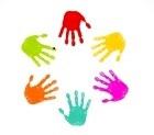 21175839-colorful-mains-logo-vectoriel-abstrait